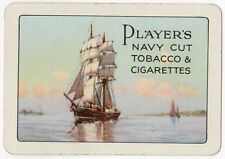Playing Cards 1 Single Swap Card Old Wide PLAYERS Navy Cut CIGARETTES & TOBACCO