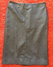 Zara Leather Straight, Pencil Skirts for Women