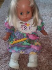 Zapf My Girl Creation Puppe Doll 1994 Baby Vintage52 cm Funktionspuppe