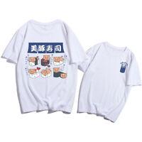 Harajuku Tshirt Korean Womens Print Tops O Neck Tees Fashion Casual Loose Tshirt