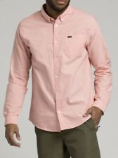 Rvca men's long sleeve Oxford shirt size M.