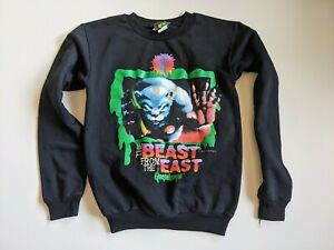 Vintage 1990s Goosebumps Book RL Stein Kids Black Sweatshirt Size XL 14 16