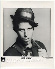 Photo Howard Rosenberg - Tom Waits - Down By Law - Jim Jarmusch 1986