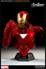 Sideshow Iron Man Mark VI Legendary Scale Bust (NEW)