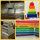5 TIER TRADITIONAL SQUARE MULTIPURPOSE CAKE BAKING PANS TINS BY EUROTINS 3