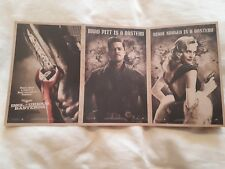 Inglorious Basterds Promo Postcards (EXTREMELY RARE!)
