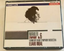 CD MAHLER Symphony No 6 - Frankfurt Radio Symphony ELIAHU INBAL - 2 CD Set