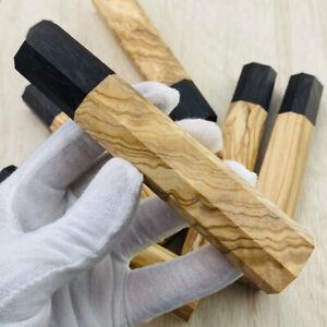 Achteckiger japanischer Stil Koch Küchenmesser Holzgriff DIY Ersatzgriff