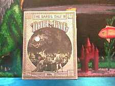 ! MANUAL ONLY ! - 1988 Bard's Tale III Thief of Fate for PC apple C-64 - !MANUAL
