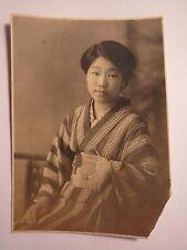 Mädchen - junge schöne Frau aus Asien im Kimono - Japan ? / Foto