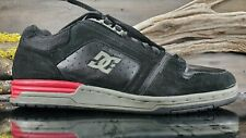DC Shoe Avenger Mens Sz 9.5 Black Leather Skateboard Shoes Anthony Van Engelen