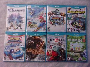 Nintendo Wii U Games Lot. LOOK