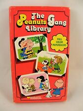 RARE! The Peanuts Gang Library - Full Color Paperbacks -  Vintage -1970