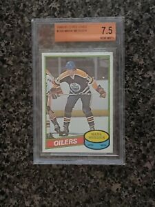 1980-81O-Pee-Chee Mark Messier #289 Rookie Card BGS 7.5