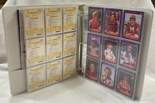 1992 Star Jockey Cards Complete Set In Binder Julieann Krone Signed Photo-Rare