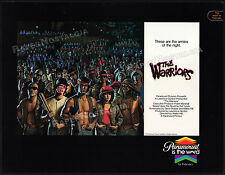 THE WARRIORS__Original 1979 Trade AD / poster__Paramount Pictures__MICHAEL BECK