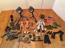 Vintage G.I Joe Lot Accessories Weapons Clothes 1960's 1964 Action Figures Parts