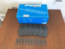 Playmobil 4385 RC TRAIN 12 rails courbés +fixations