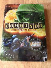Commandos: Elite Special Forces DVD Metal Case Tin Sealed