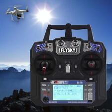 FlySky FS-I6 FS-IA6 2.4G 6CH RC Radio Control Transmitter Receiver System TX WT