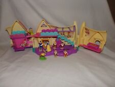 Vintage Polly Pocket Disney Blanche-Neige 7 nains faon prince chaumière maison