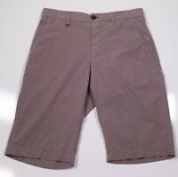 * ERMENEGILDO ZEGNA * Recent Cotton Stretch Flat Front Shorts 28