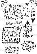 Crafty Impressions A6 Clear Stamps WARMEST WINTER WISHES CICSA6286 Festive Cheer
