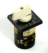 ENTRELEC K-16 Drehschalter LR23701 | 300V AC, 10 Amp, 240V, 1hp, 3phases