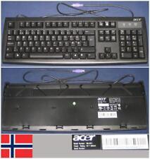 Clavier Qwerty NO Norwegian ACER KB-2971 KB2971 KB.KBP03.330 port PS/2