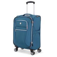 "SWISSGEAR Checklite 20"" Pilot Case Carry on Suitcase - Teal, Adult Unisex, Black"