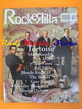 rivista ROCKERILLA 284/2004 Tortoise Blonde Redhead Mark Kozelek Shins Mum *Nocd