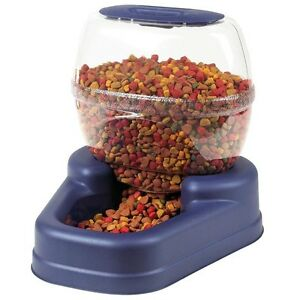 Bergan Elite Gourmet Pet Dog Cat Auto Automatic Feeder 13 lbs BER-11765
