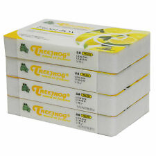 4 PACK TREEFROG FRESH BOX (aka XTREME FRESH) LEMON CAR AIR FRESHENER TRLE52