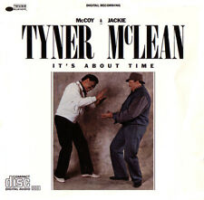 McCOY TURNER & JACKIE McLEAN - IT'S ABOUT TIME -RARE CD - LT