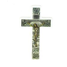 Dead Kennedys Cross punk rock In God We Trust 8x4.5cm glossy decal sticker #1397