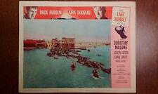 Rare 1961 Lobby Card - The Last Sunset - 11x14,Western, Rock Hudson,Kirk Douglas
