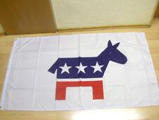 Fahne Flagge USA Demokraten - 90 x 150 cm