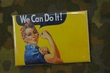 Aimant Magnet Frigo Panneau Magnétique ww2 We Can Do It! Femme US américaine