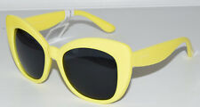 PERVERSE Olympic Butterfly Yellow Women's Sunglasses Polycarbonate UV400 Hestia