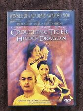 Crouching Tiger, Hidden Dragon (Dvd, 2001, Sony Picture Classics) New