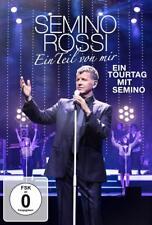 SEMINO ROSSI - EIN TEIL VON MIR (EIN TOURTAG MIT SEMINO)   DVD NEW+