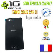 Cache Batterie Vitre Arrière SONY XPERIA Z3 COMPACT D5803 NOIR + Adhésif Collé