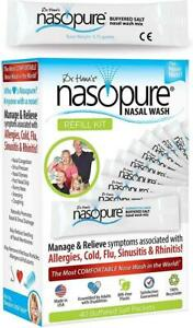 Dr. Hana's Nasopure Nasal Wash - Refill Kit for Allergy & Congestion Relief