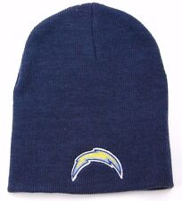 NFL TEAM APPAREL CUFFLESS KNIT WINTER HAT/BEANIE/TOQUE - SAN DIEGO CHARGERS