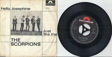 "The Scorpions - Hello Josephine / Just Like Me  (1965)  D 7"" Single RAR !!"