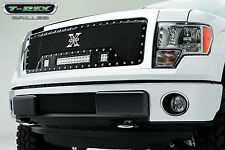 T-Rex Torcia Serie Griglia Led 13-14 Ford F-150 Camion 6315721 Nero