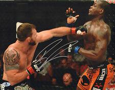 RYAN BADER SIGNED AUTO'D 11X14 PHOTO BAS BECKETT COA UFC TUF 8 WINNER 144 192 C