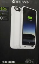 Mophie Juice Pack 60% for Apple Iphone 6 Plus White Built-in Battery Case New