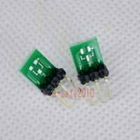 5pcs New Double-Side SMD SOT23-3 to DIP SIP3 Adapter PCB Board DIY Converter E42