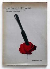 La botte e il violino 1965/4 Repertorio illustrato di design Sinisgalli